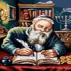 Żyd liczący pieniądze wg Piotr Sobczyk (7192)