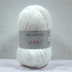 PHIL POOPING PHILDAR BLANC